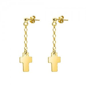 Earrings 'Crosses'