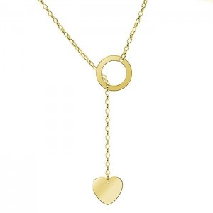 Necklace Circle&Heart