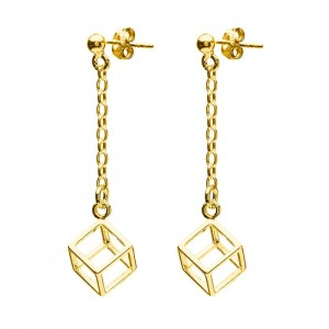 Earrings Cubes