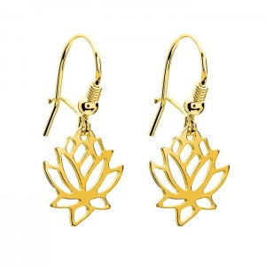 Earrings Lotus Flower